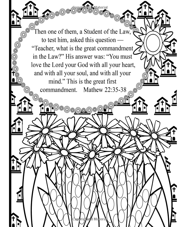 Amazon Com Springtime Blessings Christian Coloring Book Scriptures And Prayer Journal Living The Christian Coloring Book Christian Coloring Prayer Journal