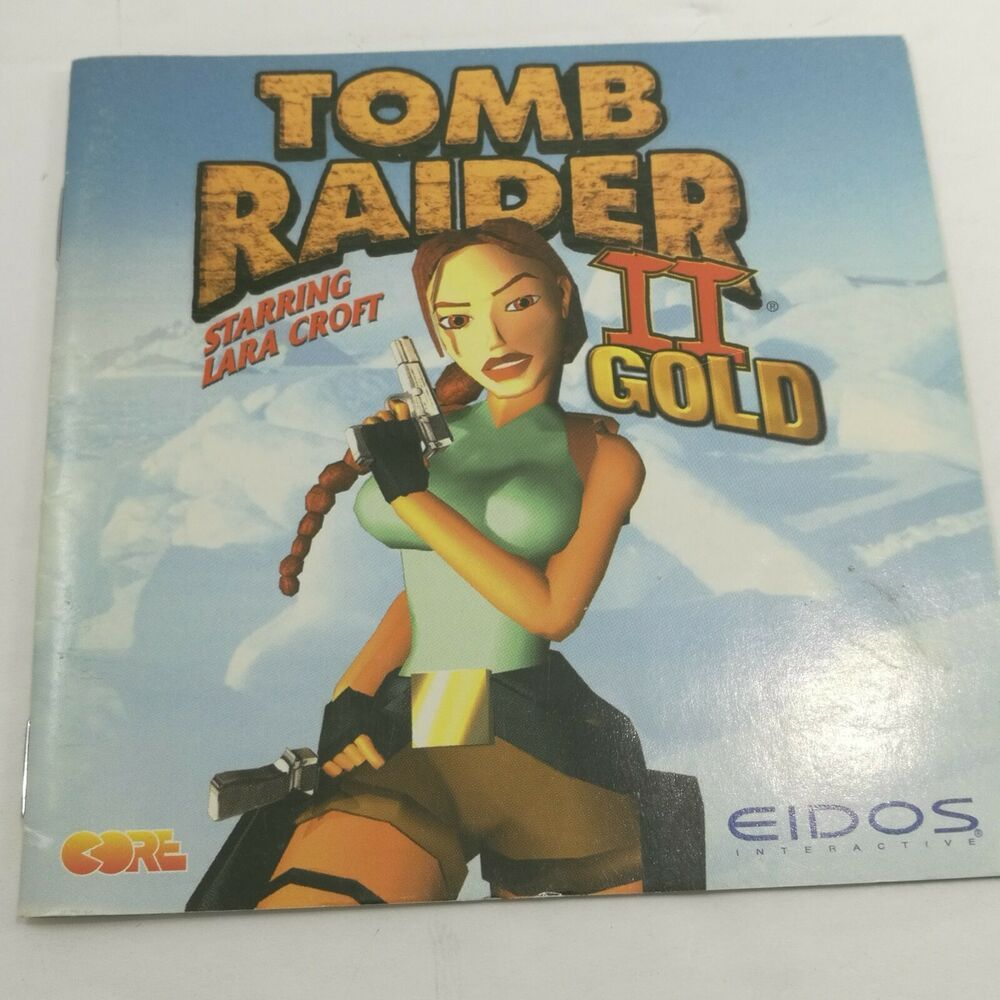 Pc Tomb Raider 2 Starring Lara Croft Manual Ebay Lara Croft Tomb Raider Tomb