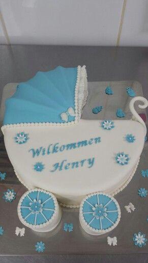 Kinderwagen Torte Taufe Pinterest Baby Shower Cakes Baby Und