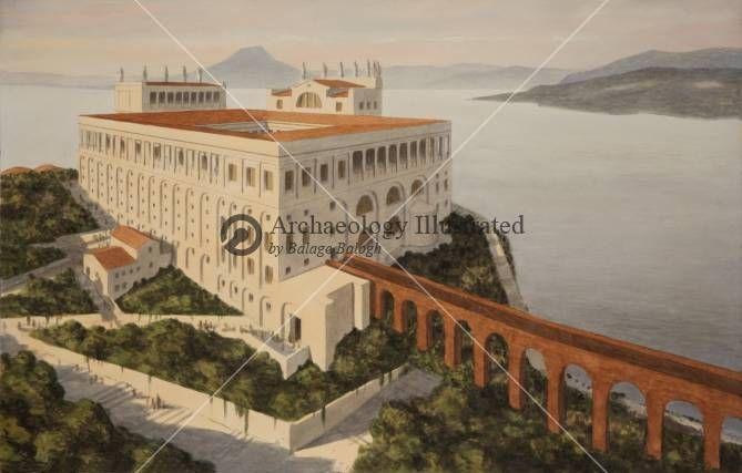 Villa Jovis A Palace Of The Emperor Tiberius On The Island Of Capri 1st Century Ad Bible Illustrations Biblical Sermon Il 1st Century Pompeii Ancient Rome