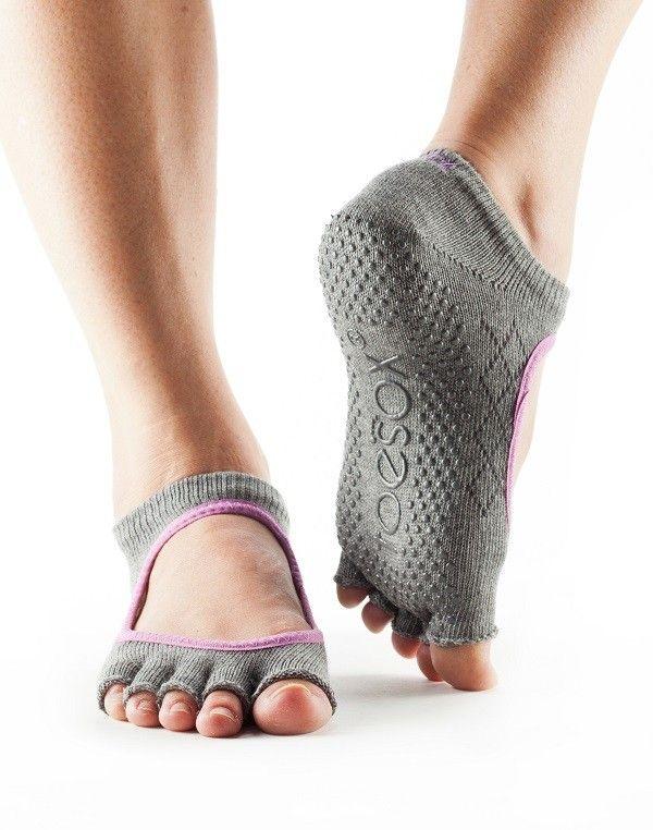 Half Toe Bella Grip Socks Black XSmall | NEW IN | Grip socks, Toe