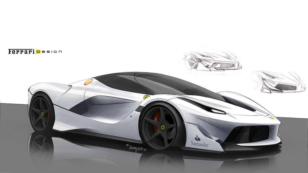 Here 39 s how ferrari designed the insane fxx k for Case futuristiche