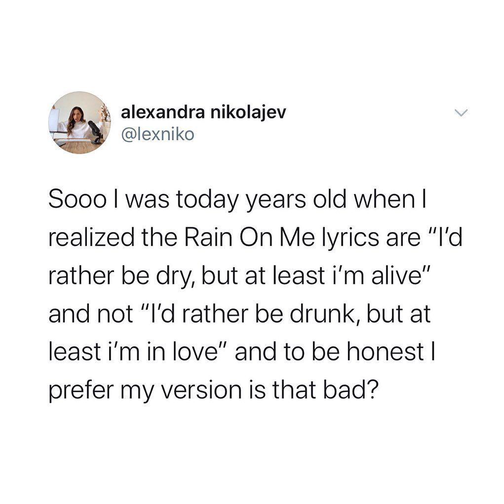 remix? @ladygaga @arianagrande #rainonme in 2020   Funny ...