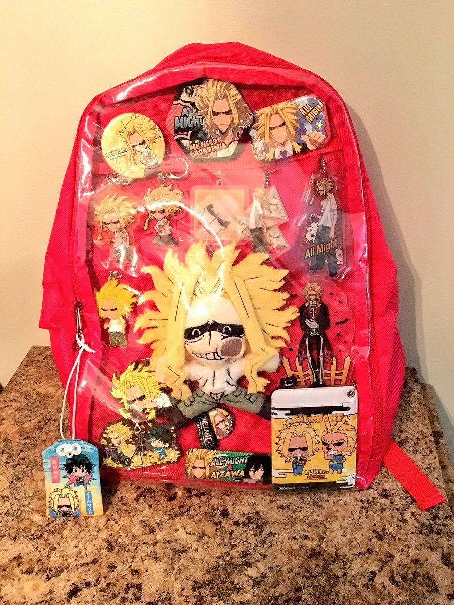 All might ita bag bnha anime bag my hero academia