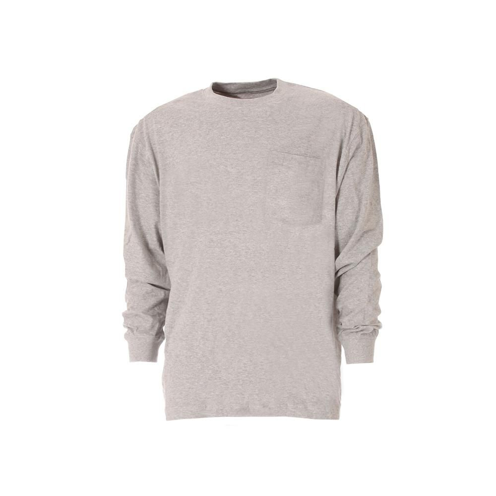 Berne Men S Extra Large Regular Grey Cotton And Polyester Heavy