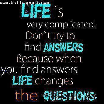 Download Life is very complicated Heart touching love