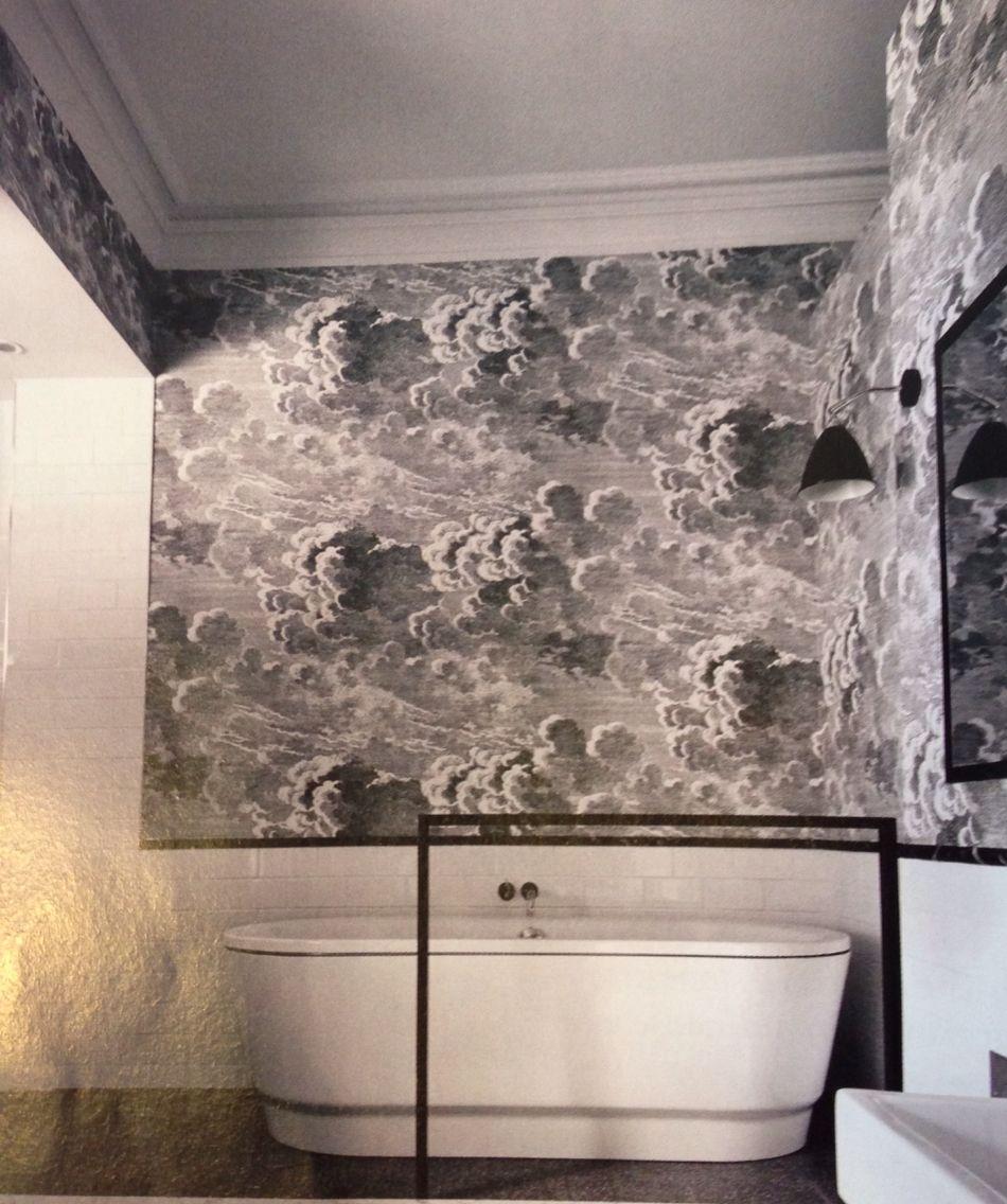 Cole Son Fornasetti Collection Nuvolette Wallpaper