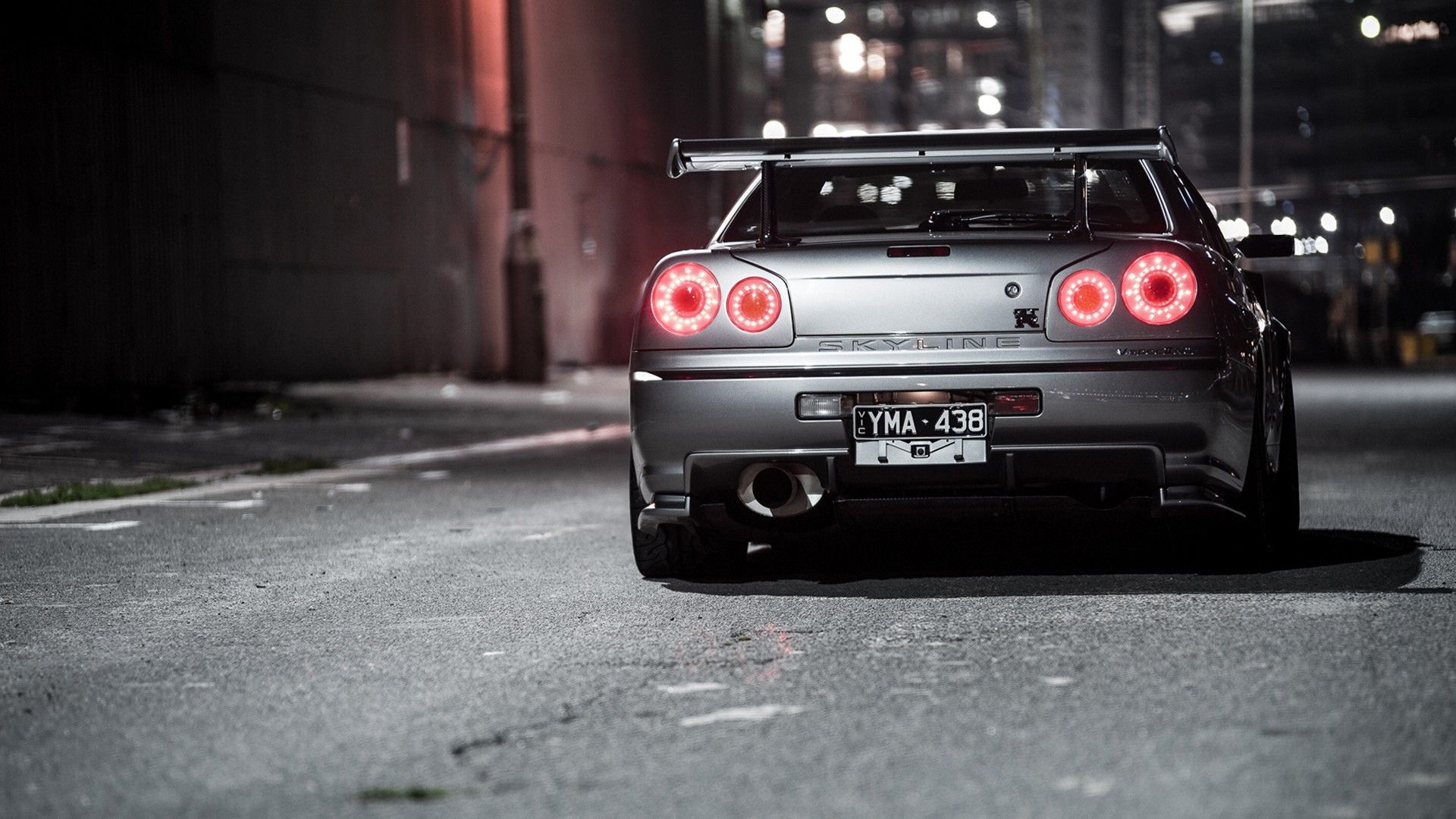 Skyline R34 Car Nissan Skyline Gt R Silver Cars Vehicle