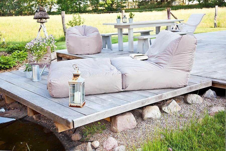buiten zitzak fauteuil selski Pinterest Inspiration and Gardens - garten lounge mobel holz