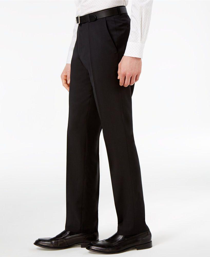 hugo boss black dress pants