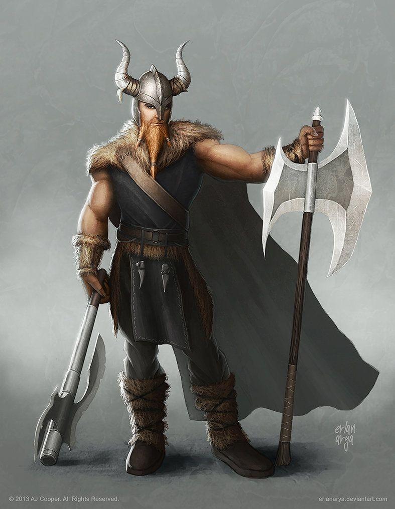 Warrior (Viking) by erlanarya on DeviantArt | More art by ...