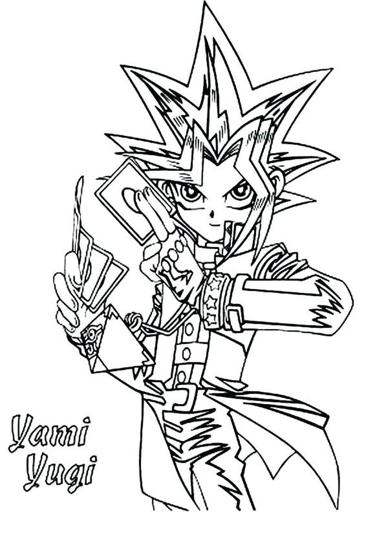 Yu Gi Oh Zexal Coloring Pages Free Cartoon Coloring Pages Coloring Pages Printable Coloring Pages