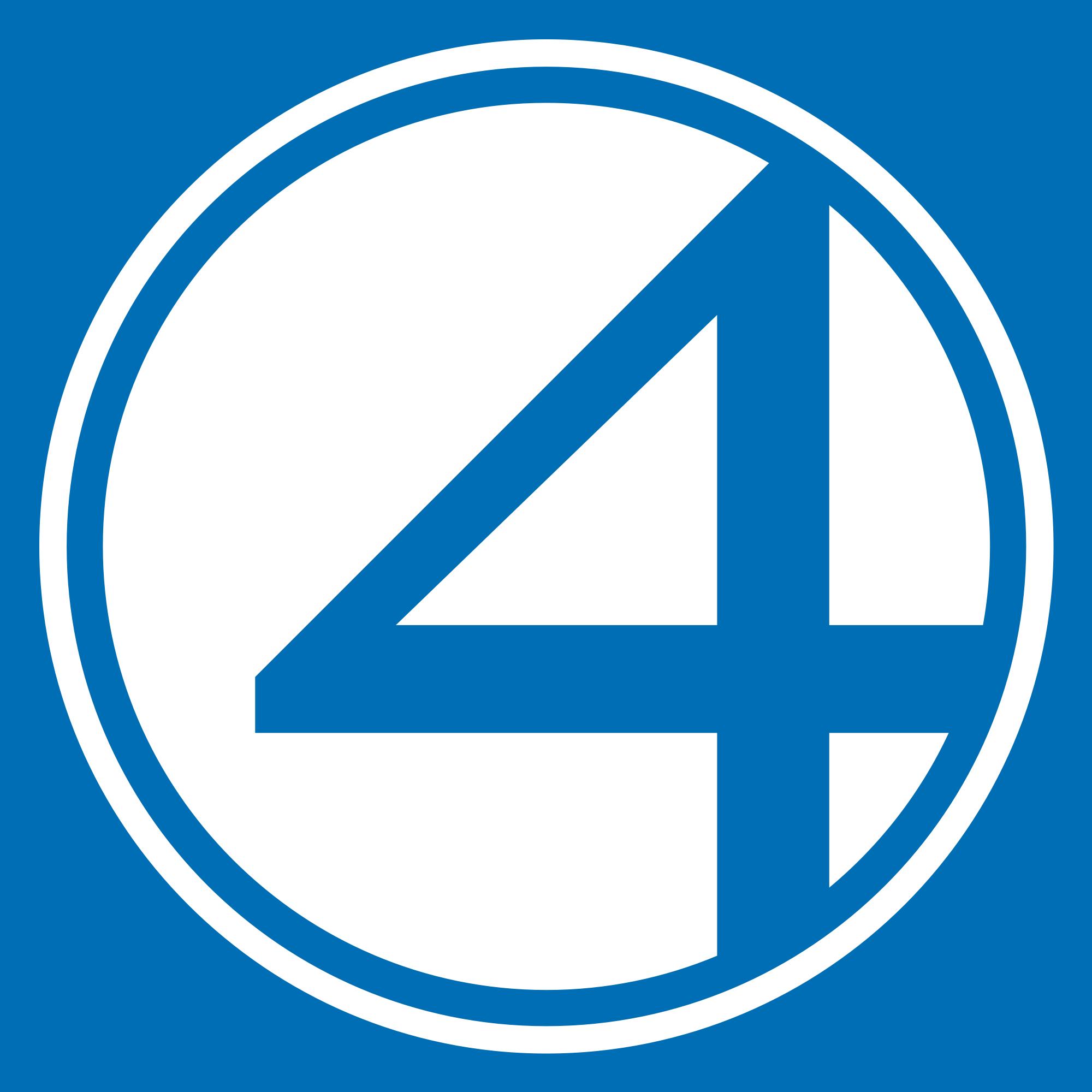 4 Fantastic Logo Buscar Con Google Fantastic Four Logo Fantastic Four All Marvel Superheroes