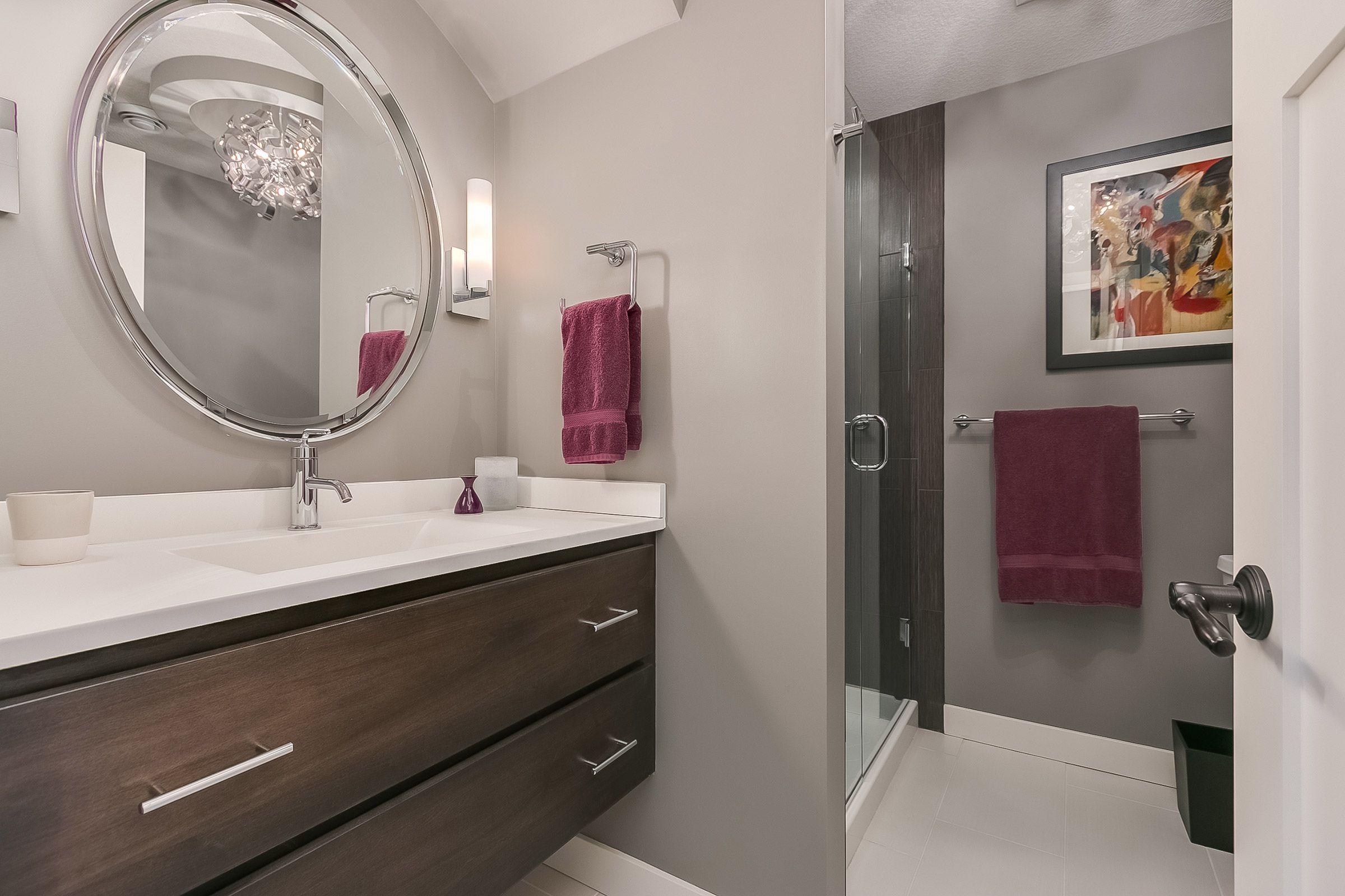 Pin By Finished Basement Company On Basement Bed Bath Pinterest - Bathroom vanity brooklyn