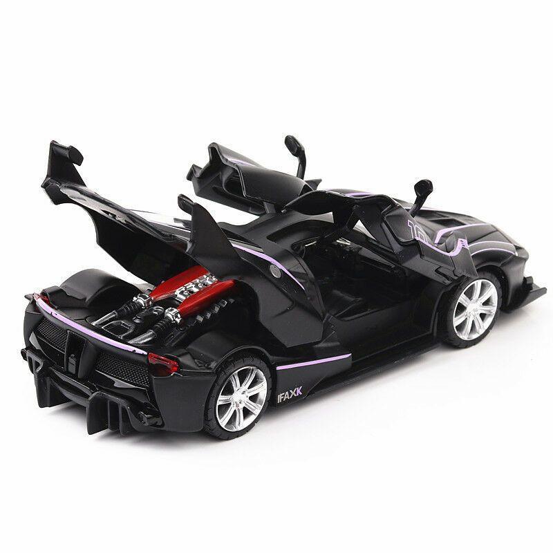 Ferrari La Ferrari FXX 1:32 Diecast Model Car Toy Sound&Light Pullback Power #Ad , #spon, #Diecast#Model#Ferrari