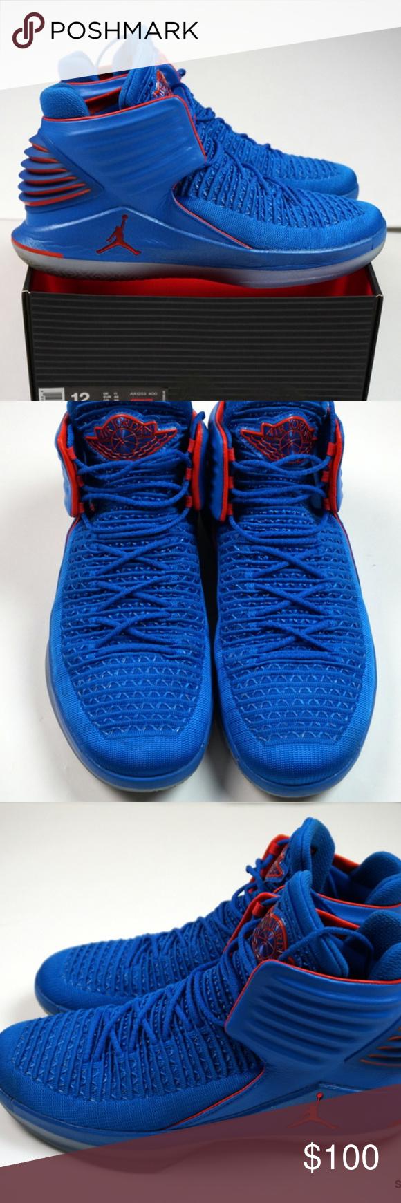 f539cf92f602 Nike Air Jordan XXXII 32 Why Not Shoes Men s Sz 12 Nike Air Jordan XXXII 32  AA1253-400 Russell Westbrook