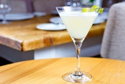 Elderflower Gimlet At Happy Hour Ella Dining Room And Bar Beauteous Ella Dining Room & Bar Decorating Inspiration