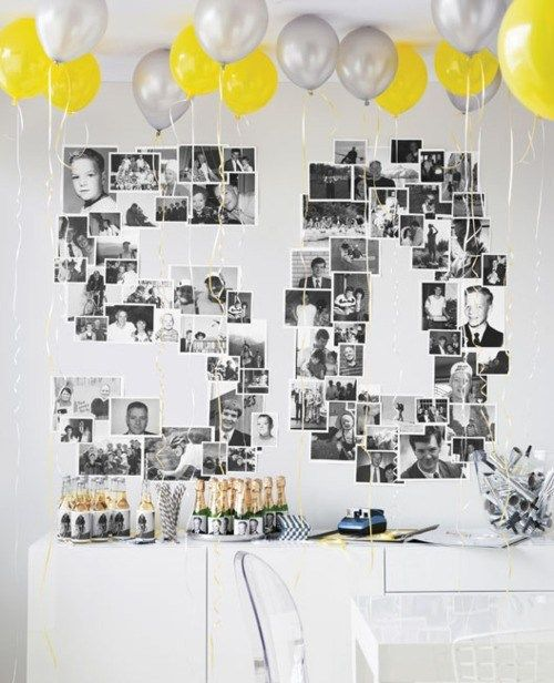 50th Anniversary Diy Birthday Ideas Party Decorations For Adults Themes
