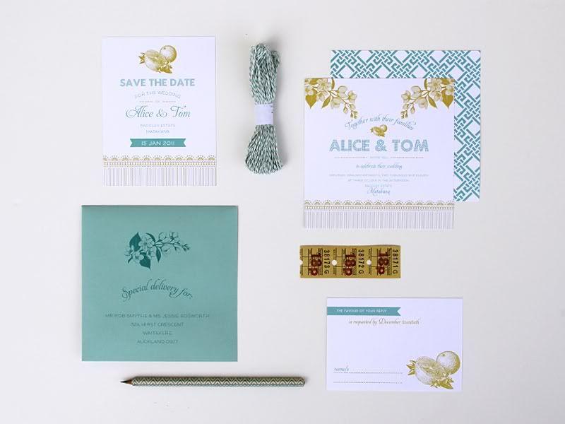 Magnolia Rouge: Sweet Tea Invitation by Ruby and Willow #weddinginvitations #weddingstationery #invitations