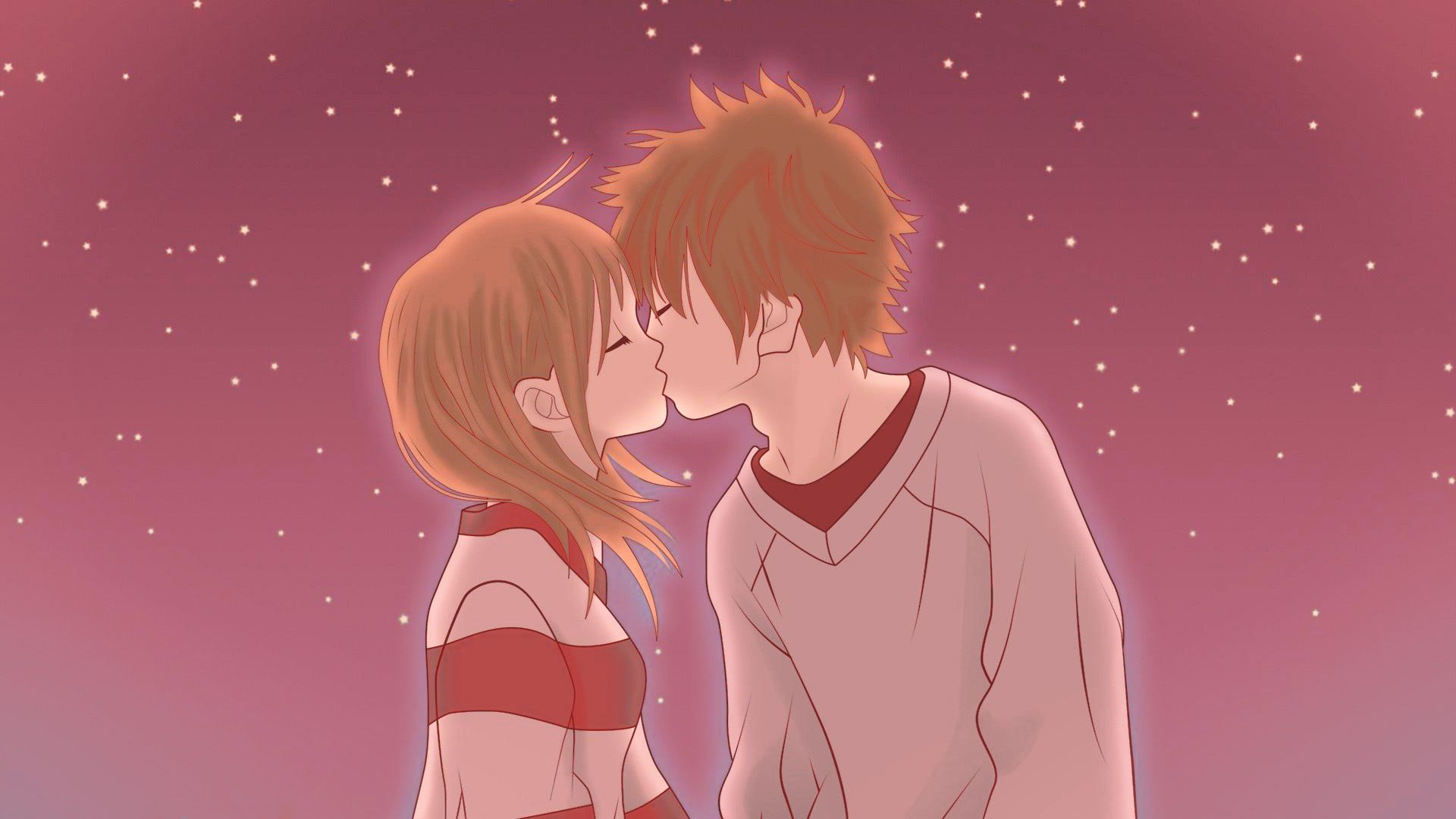 Cute Anime Couple Wallpapers For Desktop