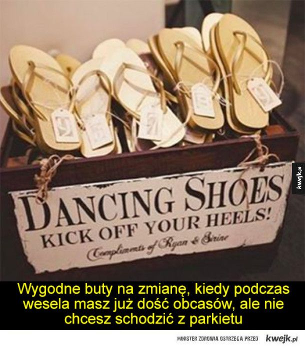 Nieglupie Rozwiazania I Gadzety Wedding Guest Shoes Fun Wedding Entertainment Parasol Wedding