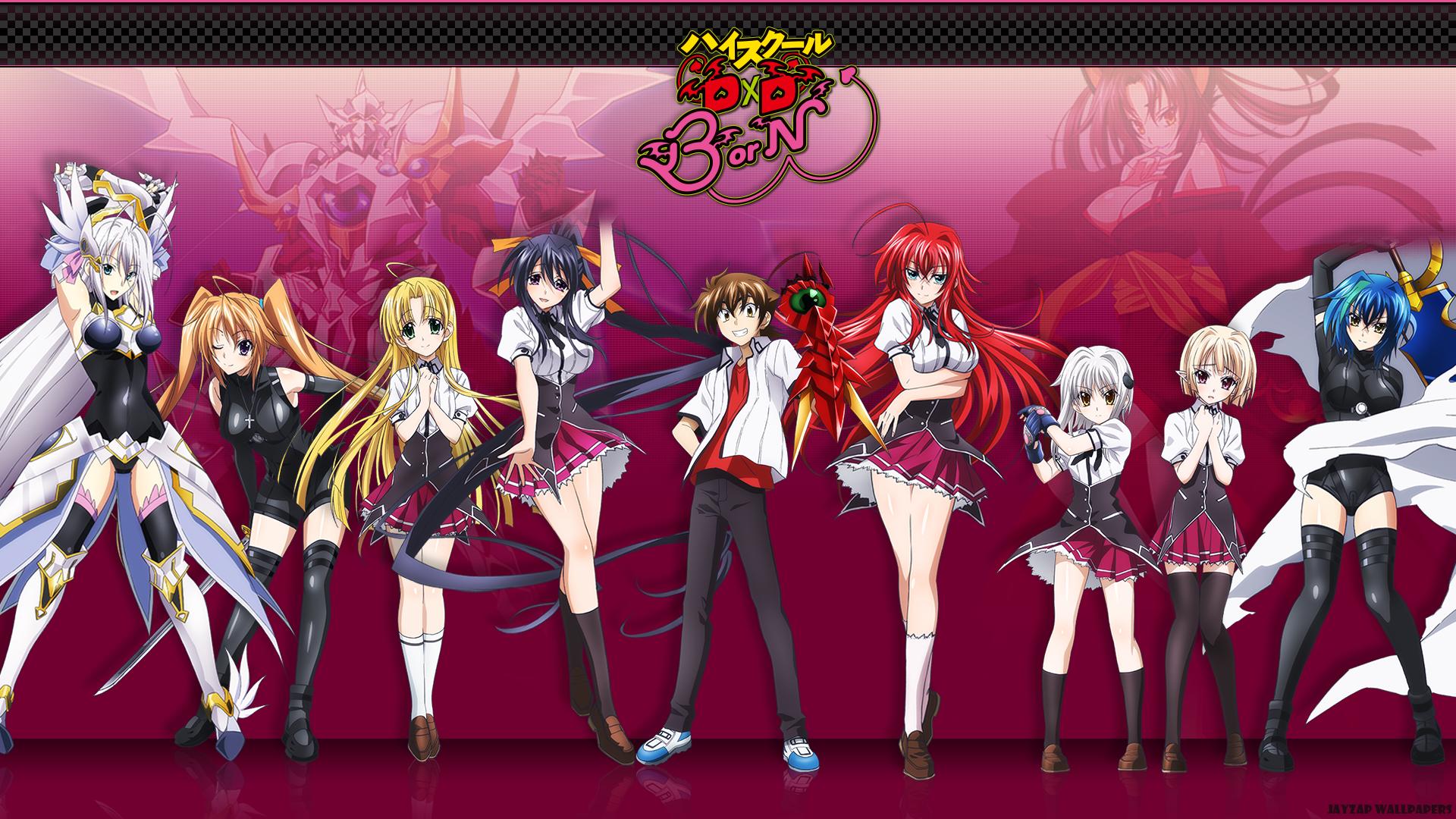 Anime Characters Born On November 7 : Highschool dxd born google search high school