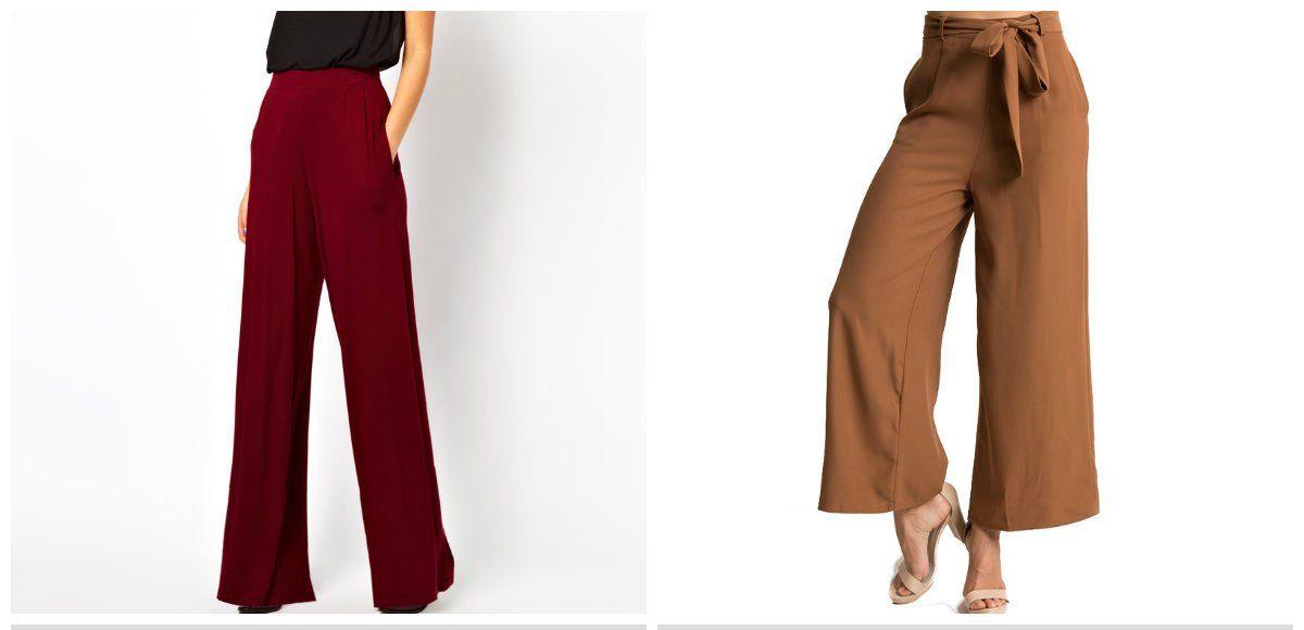 c60606830 Womens pants 2018  trendy trousers for women 2018