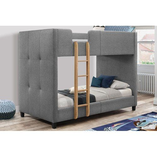 Godstowe Cabin Bed With Drawers Bunk Beds Single Bunk Bed Grey