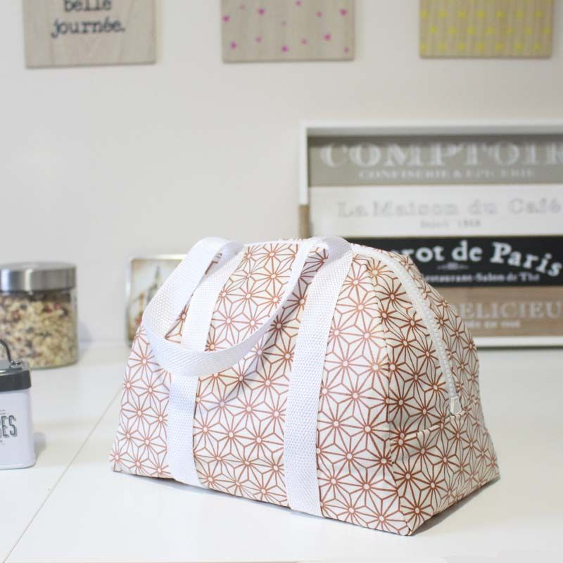 Patron-PDF-Lunch-bag-Elsa-toile-ciree | tuto sacs | Pinterest ...