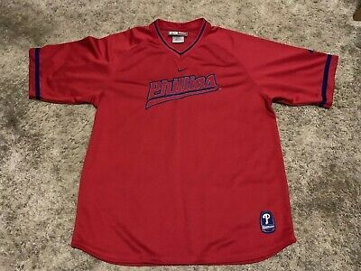 Philadelphia Phillies Mens Nike Team Genuine Major League Shirt Size Size Large (ebay link)