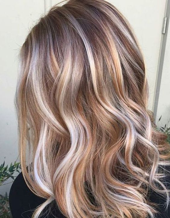 Multi Toned Brown Bob With Low Lights Hairstyle Ideas 2017
