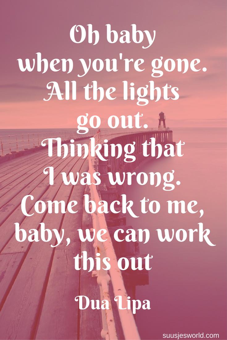 You Re The One Oh Baby : Pinterest, Suusjesworld, Great, Inspirational, Quotes,, Lyrics