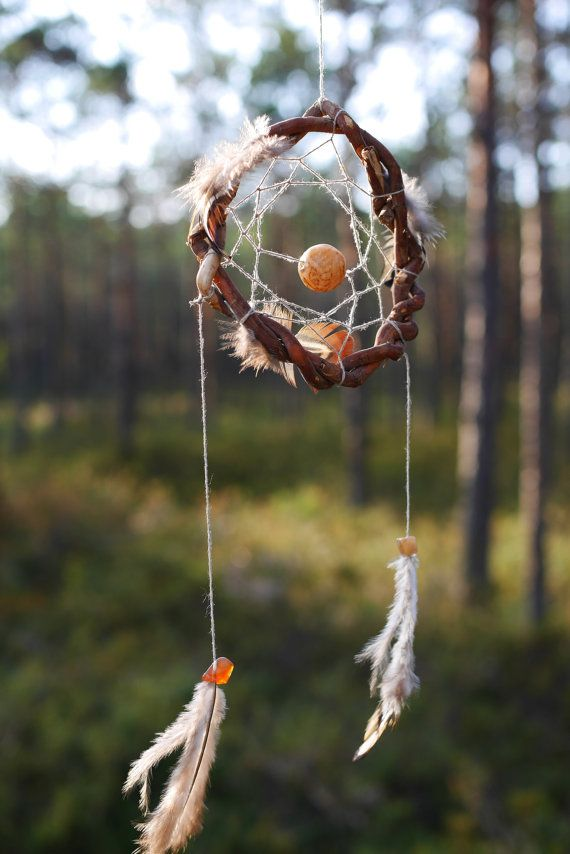 How Are Dream Catchers Made Native Sky totem series Tribal bird spirit totem Native american 35