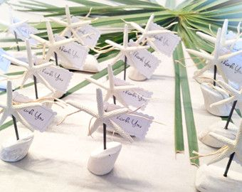 50 personalized succulent or air plant cork magnet favors with heart ...