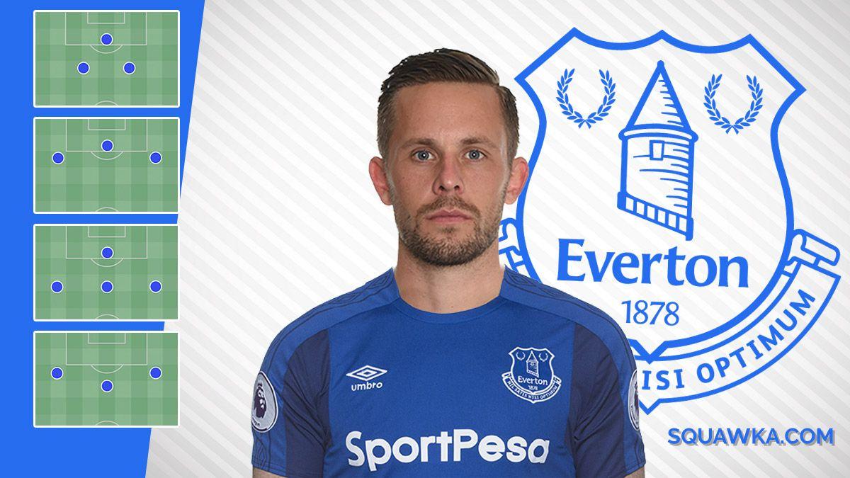 Four ways Everton could line up with Gylfi Sigurdsson