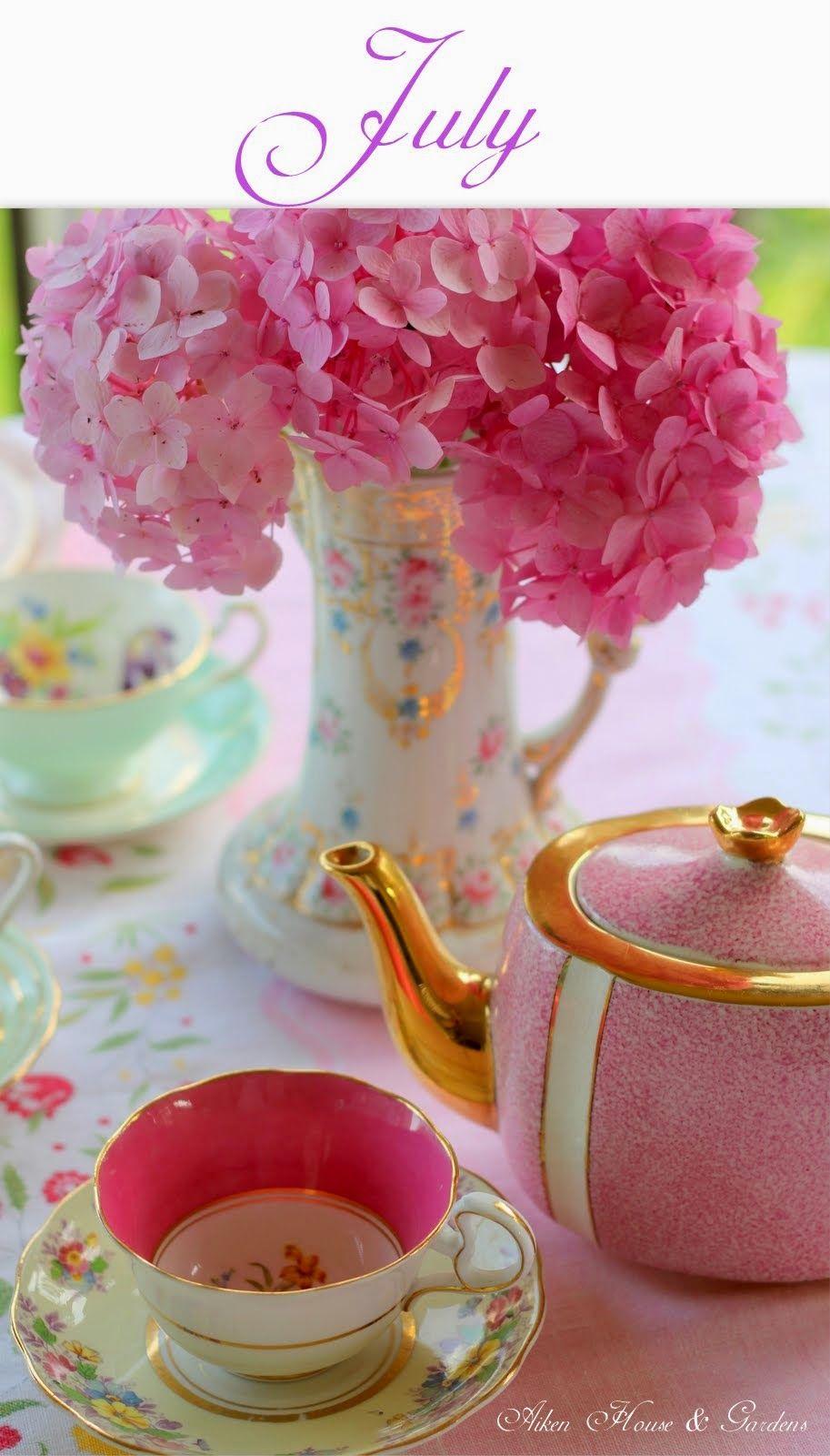 July tea