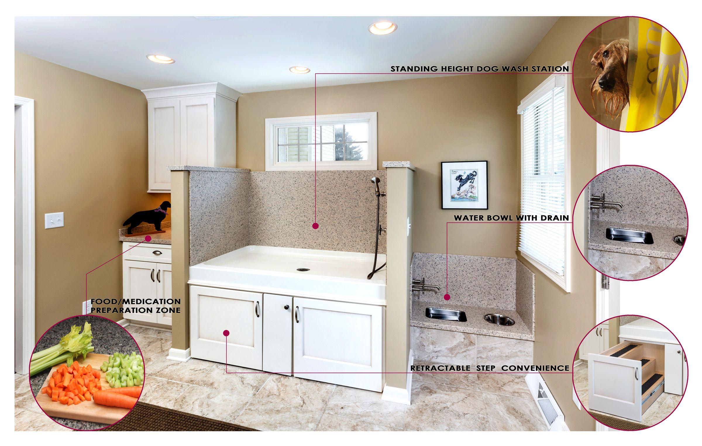 A mud room designed for your dog dog rooms dog washing