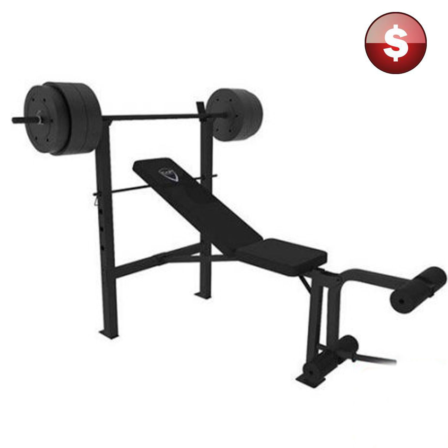 black outdoors deluxe cap weights amazon sports utility weight and com dp bench barbell
