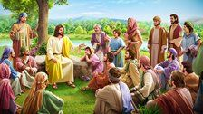 What is the difference between the work of God incarnate and the