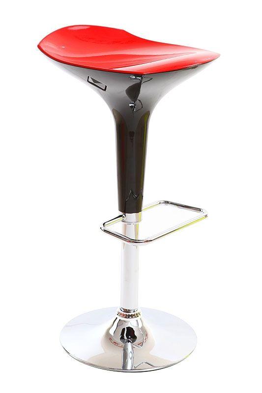 Tabouret De Bar Design Rouge Et Noir Venus B吧椅 Bar Bar Chairs