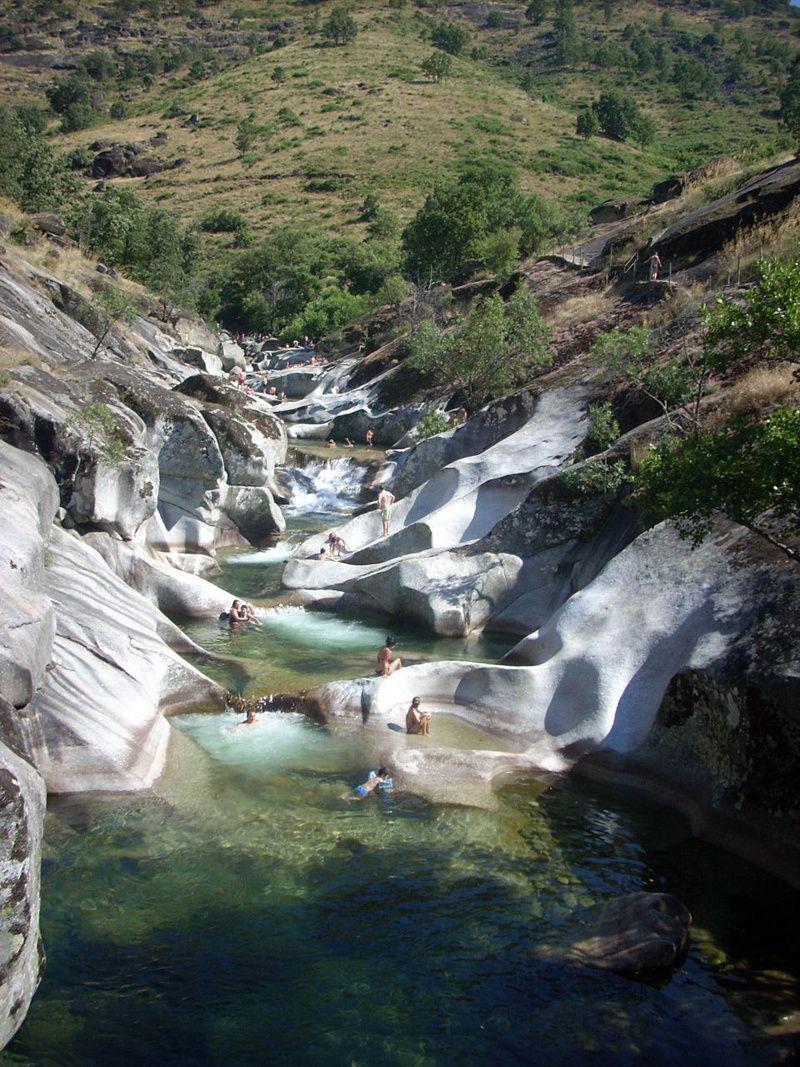 Mapa verde 2015 destinos en espa a para ser eco for Piscinas naturales y rios en madrid