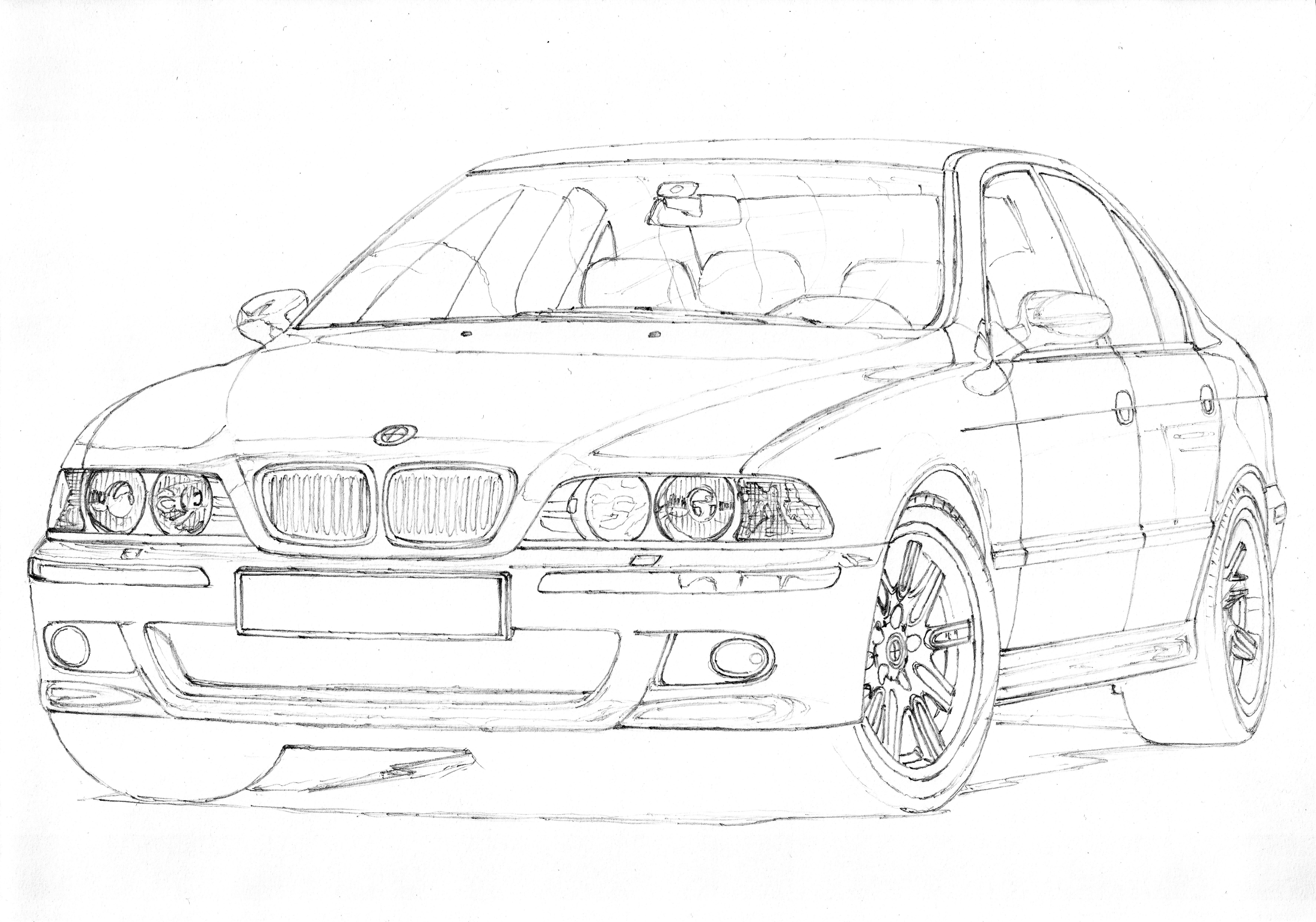 bmw e39 m5 1  3 another v8  this time from germany  bmw  m5