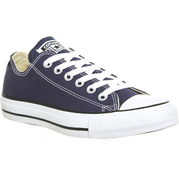 Trainers women, Navy blue shoes, Converse