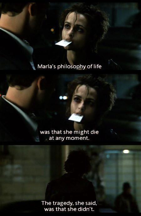 Fight Club Quotes Fincher's Fight Club | fightclub in 2019 | Fight Club, Fight club  Fight Club Quotes