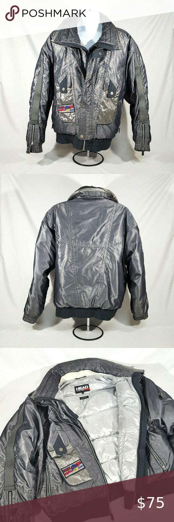 Vintage Head Solar Dynamics Metallic Puffer Jacket Jackets Puffer Jackets Puffer [ 1740 x 580 Pixel ]