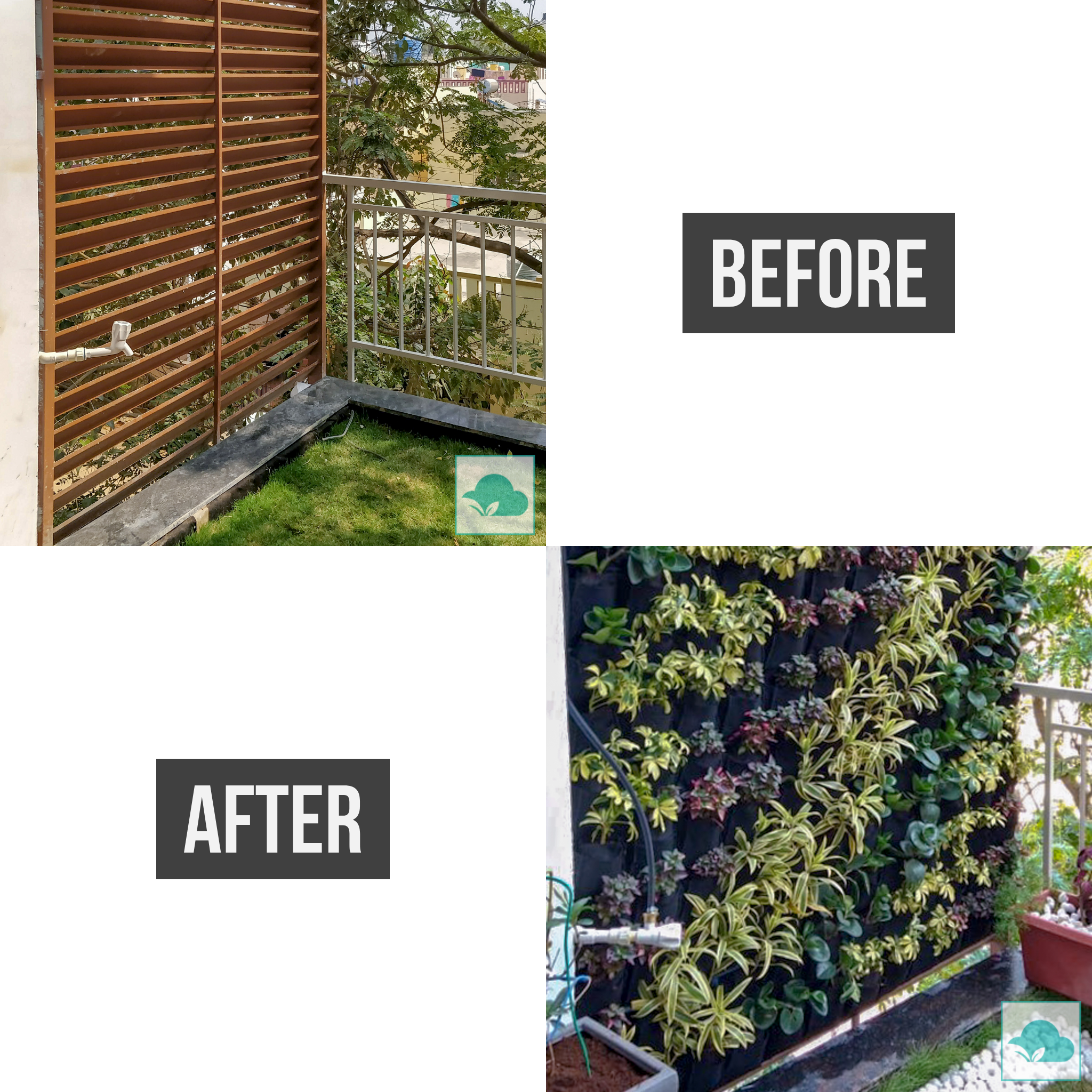 How About Transforming Your Dusty Barren Balcony To A