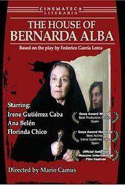 The House of Bernarda Alba (1987) - IMDb Directed by Mario Camus Spain