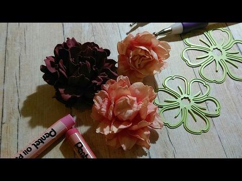 Tutorial Kwiat Z Foamiranu Pracownia Maciuskrapki Youtube Handmade Craft Cards Card Craft Cards Handmade