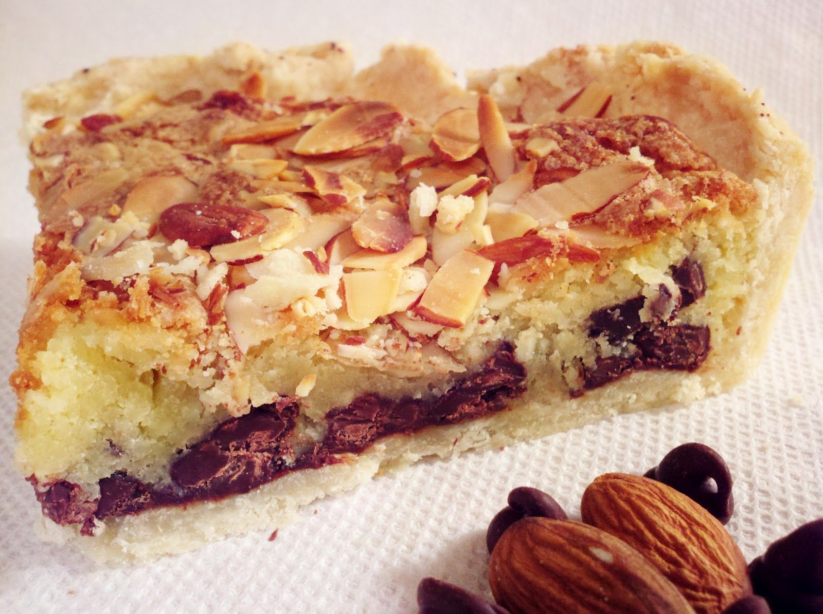 Healthy, One Recipe At a Time...: Chocolate Almond Pie