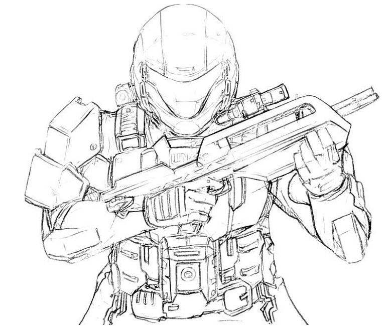 lego halo coloring pages - Halo Coloring Pages